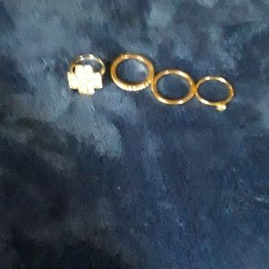 Ring bundle. NEW LISTING!😊